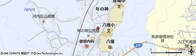 大分県佐伯市戸穴1534周辺の地図