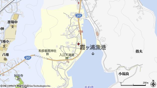 大分県佐伯市霞ケ浦334周辺の地図