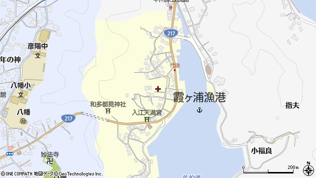 大分県佐伯市霞ケ浦360周辺の地図