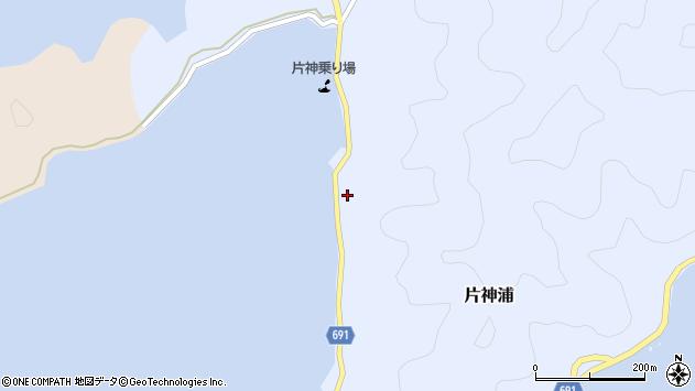 大分県佐伯市片神浦552周辺の地図