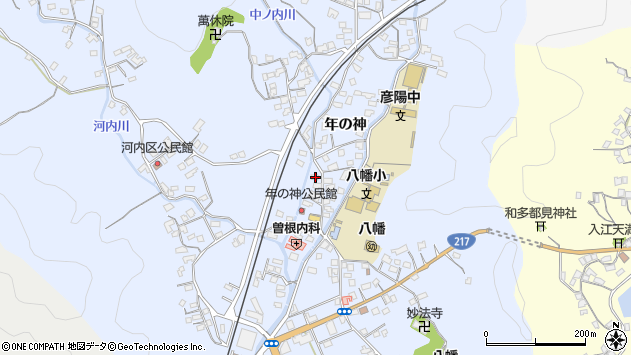 大分県佐伯市戸穴1537周辺の地図