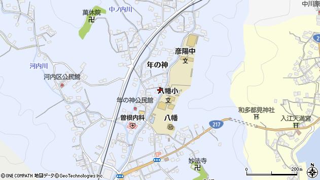 大分県佐伯市戸穴1547周辺の地図