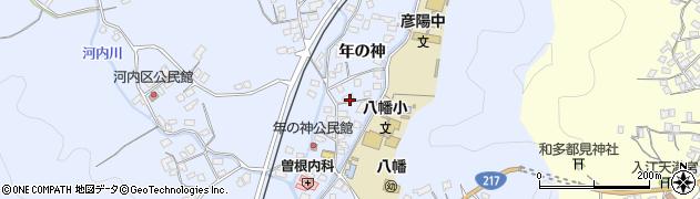 大分県佐伯市戸穴1543周辺の地図