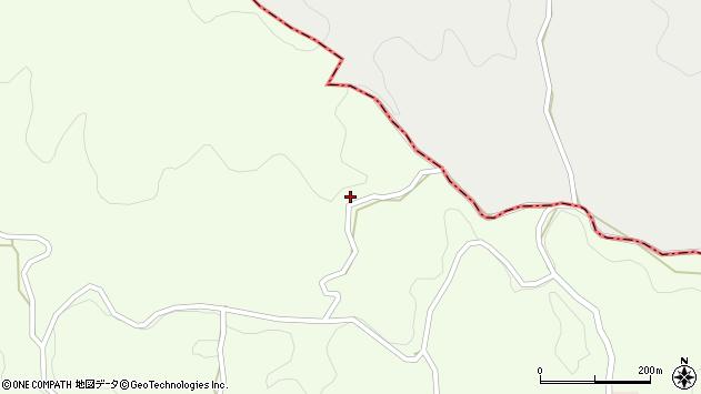 大分県竹田市中1370周辺の地図
