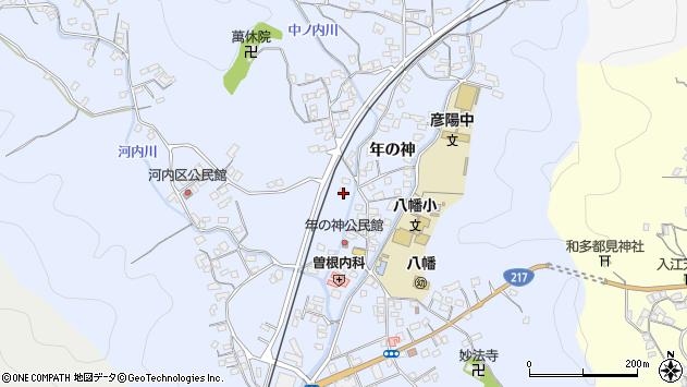 大分県佐伯市戸穴1460周辺の地図