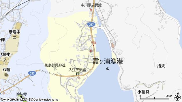 大分県佐伯市霞ケ浦346周辺の地図