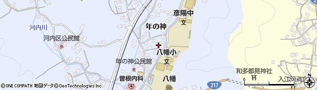 大分県佐伯市戸穴1552周辺の地図
