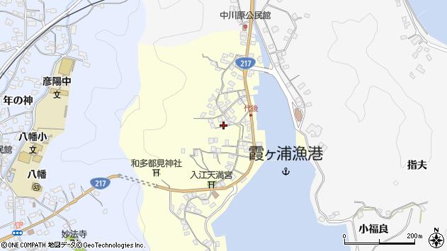 大分県佐伯市霞ケ浦593周辺の地図