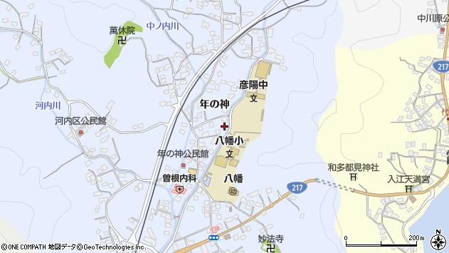 大分県佐伯市戸穴1553周辺の地図