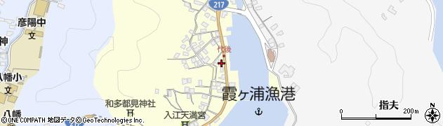 大分県佐伯市霞ケ浦342周辺の地図