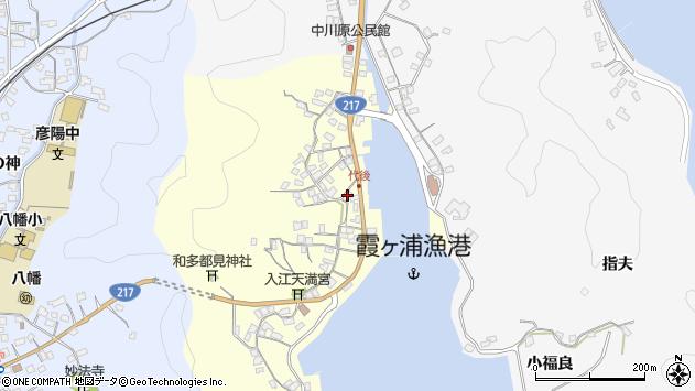 大分県佐伯市霞ケ浦345周辺の地図