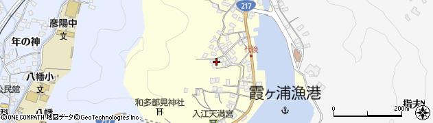 大分県佐伯市霞ケ浦587周辺の地図