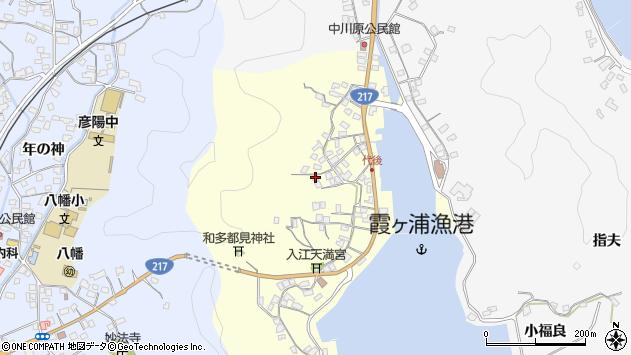 大分県佐伯市霞ケ浦586周辺の地図