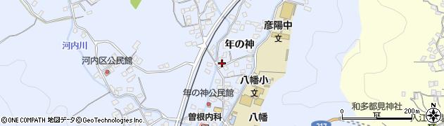 大分県佐伯市戸穴1561周辺の地図