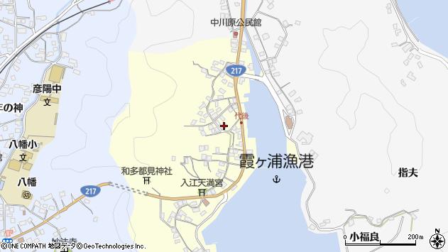 大分県佐伯市霞ケ浦538周辺の地図