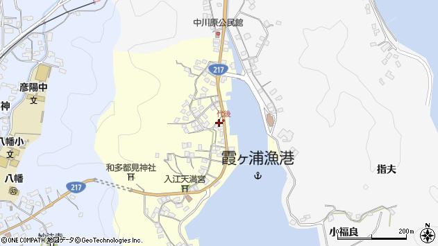 大分県佐伯市霞ケ浦344周辺の地図