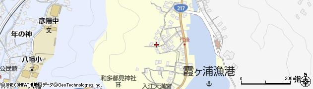 大分県佐伯市霞ケ浦581周辺の地図