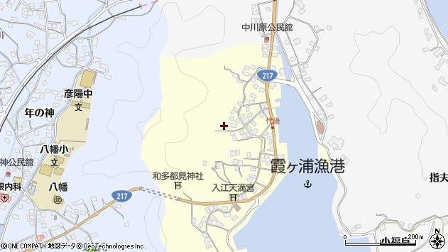 大分県佐伯市霞ケ浦583周辺の地図