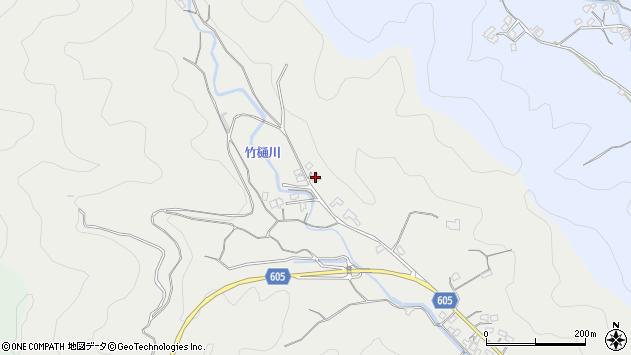 大分県佐伯市海崎3065周辺の地図