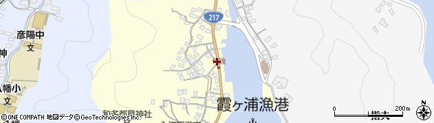 大分県佐伯市霞ケ浦530周辺の地図