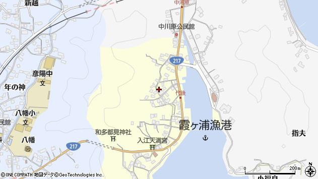 大分県佐伯市霞ケ浦542周辺の地図
