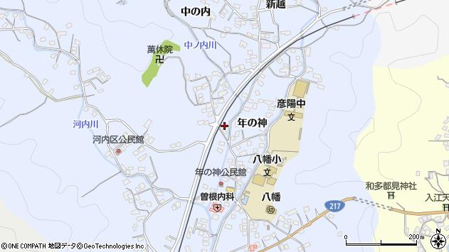 大分県佐伯市戸穴1456周辺の地図