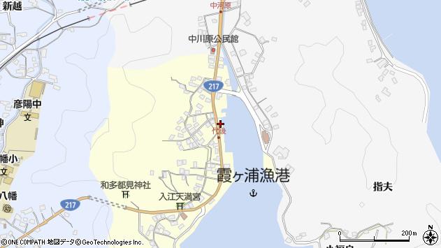 大分県佐伯市霞ケ浦531周辺の地図