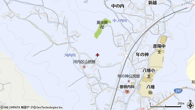 大分県佐伯市戸穴1352周辺の地図