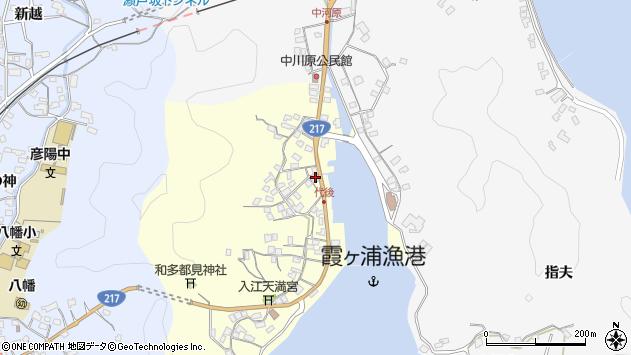 大分県佐伯市霞ケ浦533周辺の地図