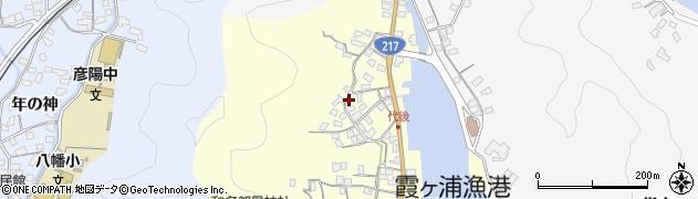 大分県佐伯市霞ケ浦546周辺の地図