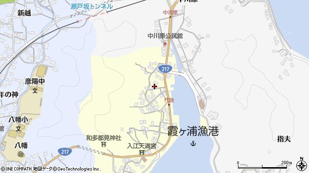 大分県佐伯市霞ケ浦547周辺の地図