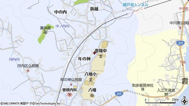 大分県佐伯市戸穴1587周辺の地図