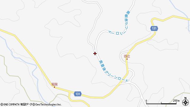 大分県竹田市久住町大字白丹8684周辺の地図
