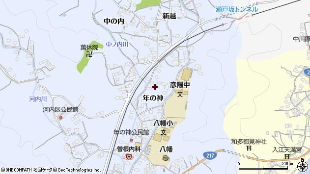 大分県佐伯市戸穴1580周辺の地図