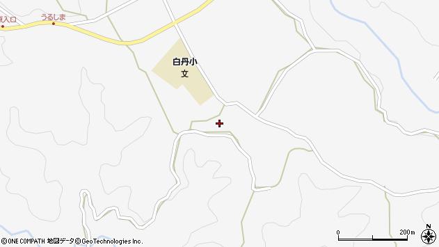 大分県竹田市久住町大字白丹4650周辺の地図