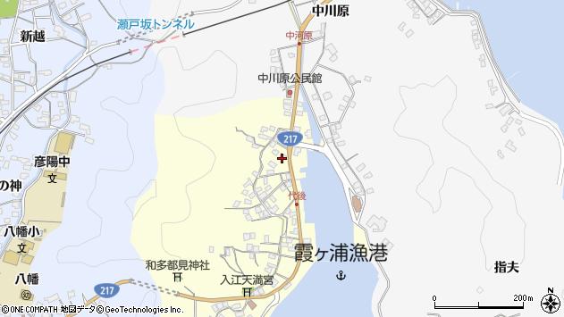 大分県佐伯市霞ケ浦548周辺の地図