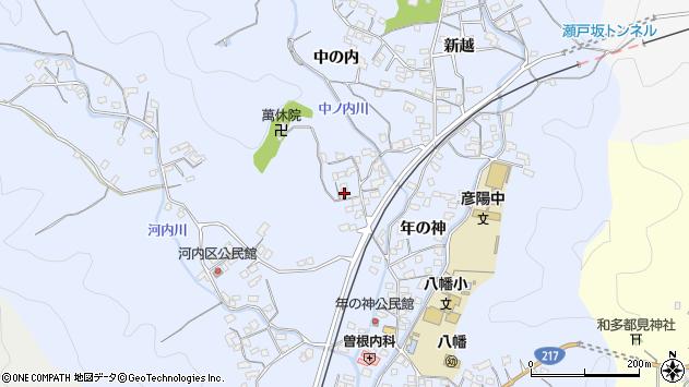 大分県佐伯市戸穴1404周辺の地図