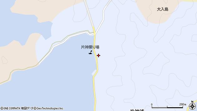 大分県佐伯市片神浦386周辺の地図