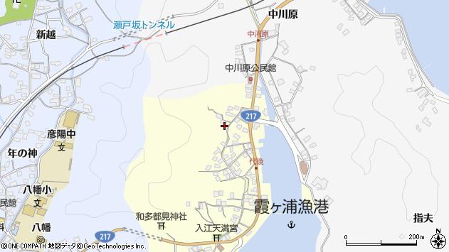 大分県佐伯市霞ケ浦569周辺の地図