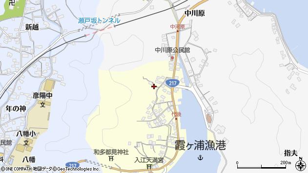 大分県佐伯市霞ケ浦650周辺の地図