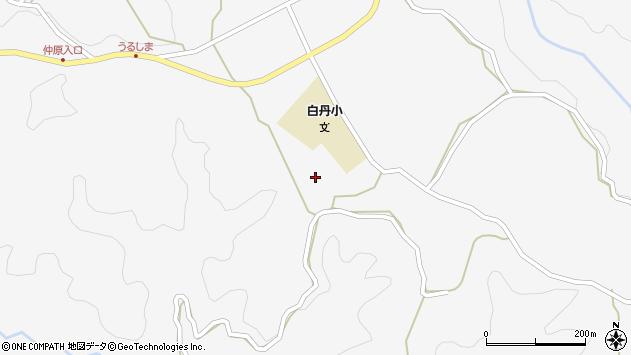 大分県竹田市久住町大字白丹4689周辺の地図