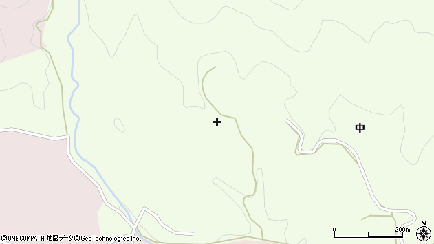 大分県竹田市中640周辺の地図
