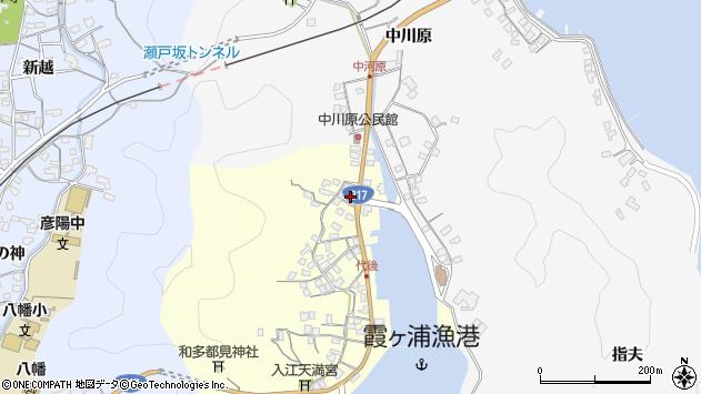 大分県佐伯市霞ケ浦553周辺の地図