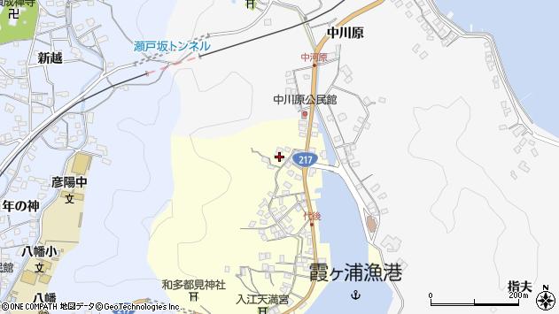 大分県佐伯市霞ケ浦783周辺の地図