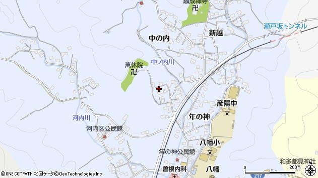 大分県佐伯市戸穴1409周辺の地図