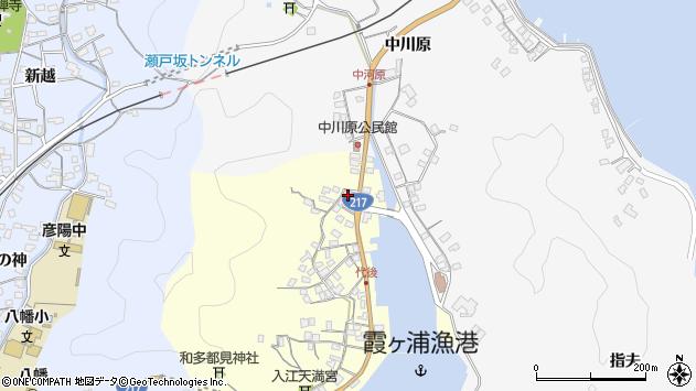 大分県佐伯市霞ケ浦559周辺の地図