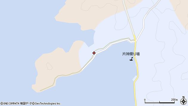 大分県佐伯市片神浦191周辺の地図