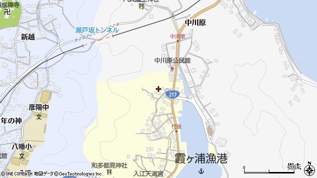 大分県佐伯市霞ケ浦786周辺の地図