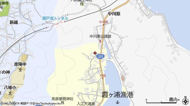 大分県佐伯市霞ケ浦784周辺の地図