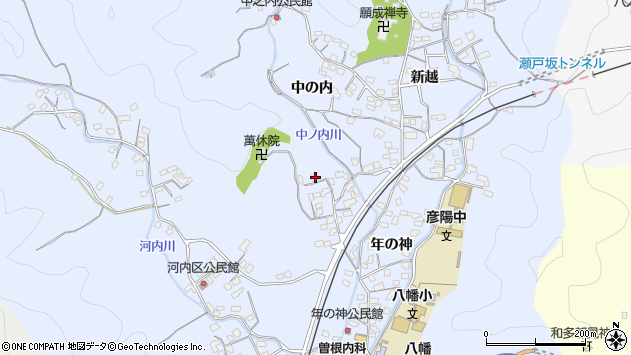 大分県佐伯市戸穴1413周辺の地図